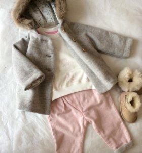 Свитшот и брюки новые на девочку