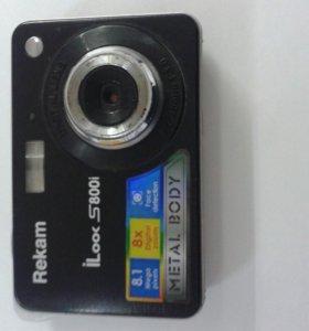 Фотоаппарат Rekam ILook S 800i