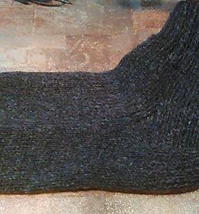 Носки шерстяные ручной работы в наличии и под зака