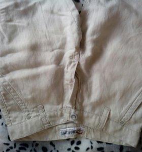 Льняные новые брюки мужские
