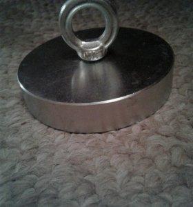 Поисковый магнит - 300кг сила тяги на отрыв
