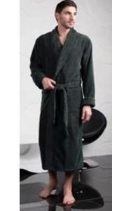 Мужской банный халат.