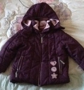 куртка на девочку б/у фирменная