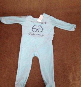 Комбинезон , пижама для малыша
