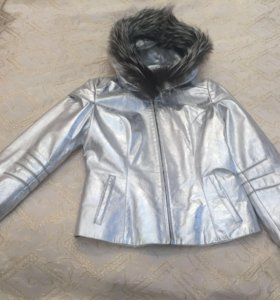 Кожаная куртка,размер L.