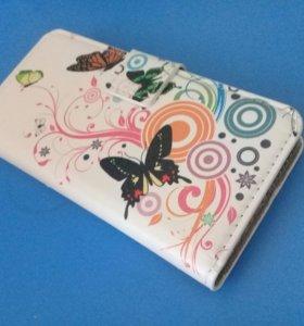 Чехол-бумажник новый