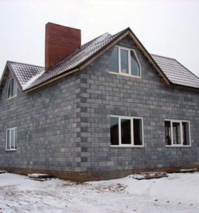 Комплект дома из теплоблоков 300 м2
