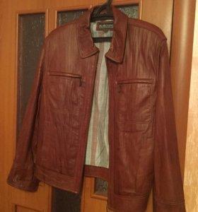 Куртка кожаная мужская новая