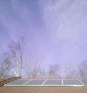 Солнечная электростанция на 2 кв