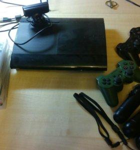 PS3 super slim на 500гб