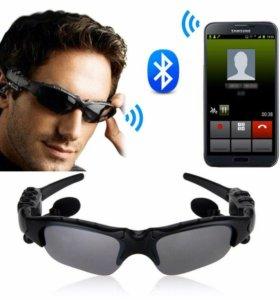 Смарт очки Bluetooth с встроенными наушниками