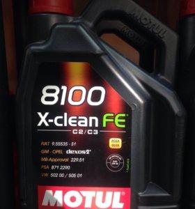 Motul X-Clean Fe 5w30 5л