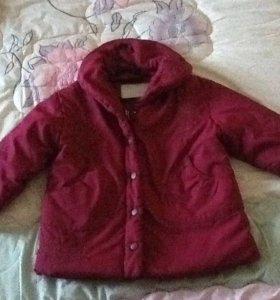 куртка на девочку б/ у на 3 года