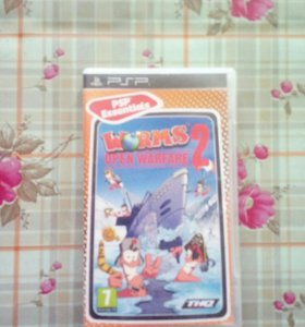 Worms: Open Warfare 2 на PSP