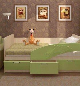 Кроватка МДФ Дельфин