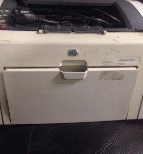 Принтер hp 1022