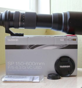 Tamron SP AF 150-600mm f/5-6.3 Di VC USD (Canon)