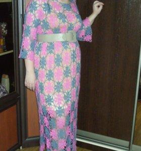 Платье. Ручная работа