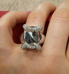 Новое Кольцо с кристаллами сваровски