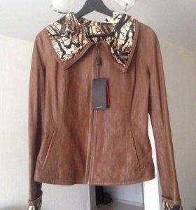 Кожаная куртка( производство Турция)