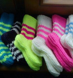 Носочки тёплые для мальчиков и девочек