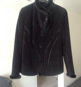 Замшевая куртка( производство Турция)