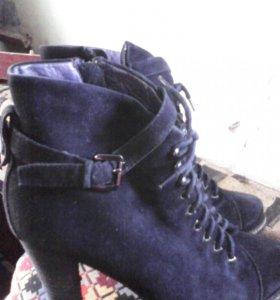 Ботинки зимние .