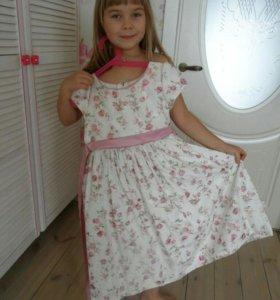 Нарядное платье на подьюбнике