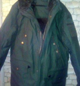 Куртка военная зимняя ( зеленая )