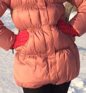 Куртка зимняя натуральный пух