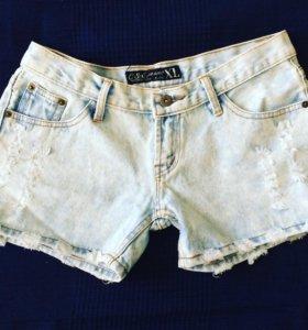 Джинсовые шорты. Новые