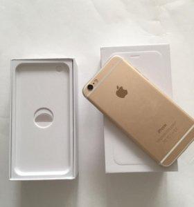 """iPhone 6 16 gold """" как новый """""""