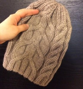 Шерстяная шапка - beanie
