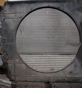 Радиатор + интеркулер мерсндес спринтер 906
