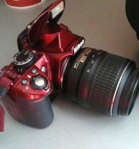 Фотокамера Nikon D3100 Kit. Сумка в подарок!