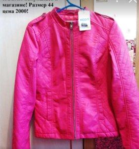 Куртка из эко.кожи