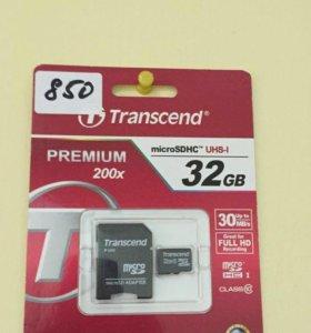 Флешка MicroSD 32GB