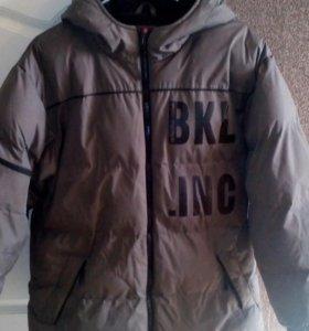 Куртка теплая на рост 164-170