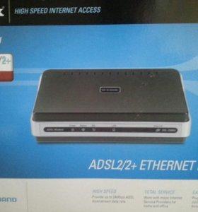 ADSL2/2+ ETHERNET MODEM