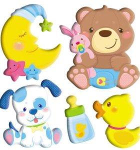 Объёмная наклейка для малышей