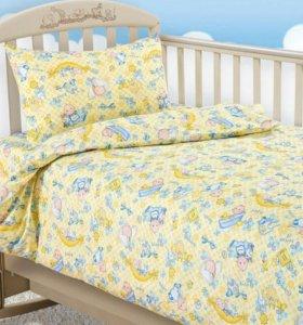 Комплект постельного белья детский.