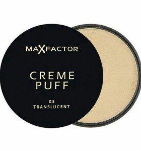 Компактная крем-пудра Max Factor Creme Puff