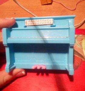 Пианино для кукол