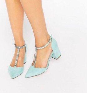 Туфли Asos мятного цвета