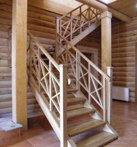 Лестница изготовление и сборка