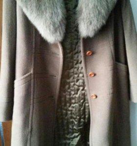 Кашемировое пальто. Новое.