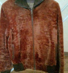 Мутоновая курточка шубка