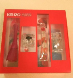 Kenzo miniatures collection
