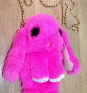 Сумка-Кролик Фуксия