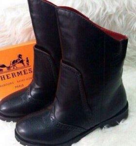 Новые ботинки Hermes в наличии размеры 37,38 и 39
